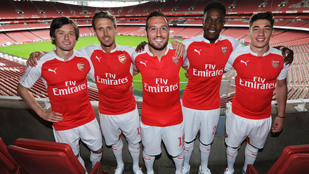d06d2f2de66 Arsenal and PUMA unveil new home kit