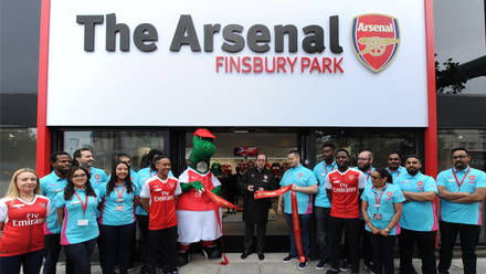 online store bea35 91233 New-look Finsbury Park store re-opens | News | Arsenal.com
