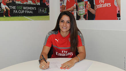 Danielle van de donk signs new contract news arsenal