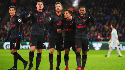 956da2f41 Crystal Palace 2 - 3 Arsenal - Match Report