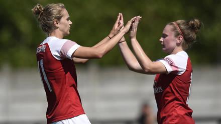 Women 5 0 Juventus Women Match Report Arsenal Com