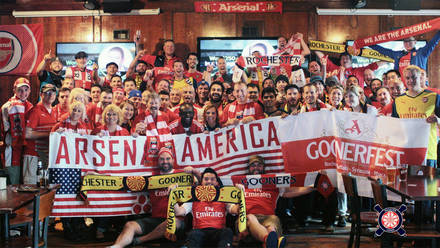 Arsenal on TV in USA and Canada | Fans | News | Arsenal com