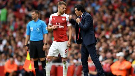 Unai Emery on Aaron Ramsey and Denis Suarez | Press