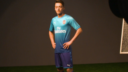 super popular e25d8 dceaf Win a signed Ozil 11 away shirt | Competition | News ...