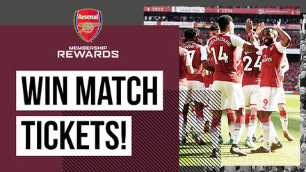 Win tickets to watch Arsenal in 2018 19  0cb739a94