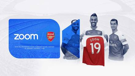 Zoom join as official partner | Club announcement | News | Arsenal com