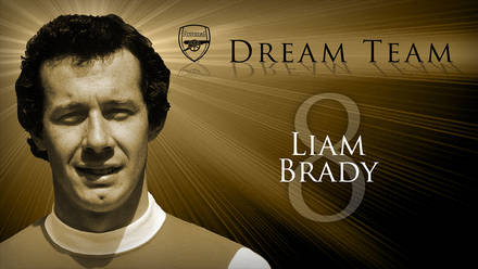 36e5aa6352a Arsenal Dream Team  8. Liam Brady