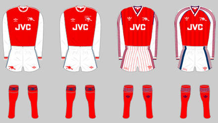 wholesale dealer 26f59 a2bcd The Arsenal home kit | History | News | Arsenal.com