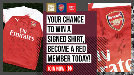 96da091ea Win a signed shirt  become a Red Member today!