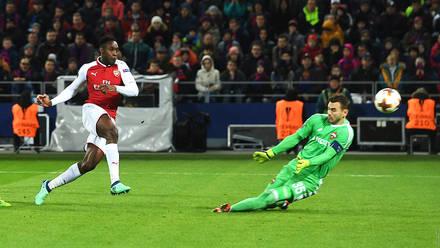Arsenal utfruset i moskva