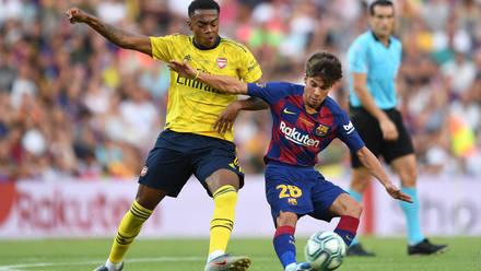 Barcelona 2 1 Arsenal Match Report Arsenal Com