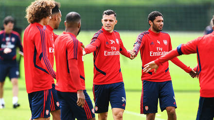📸 First team prepare for Premier League opener | Gallery | News