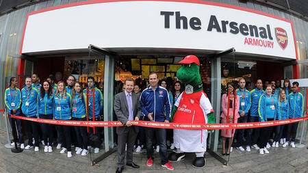 9648a40928b The Armoury Arsenal Official Store – Verein Bild Idee